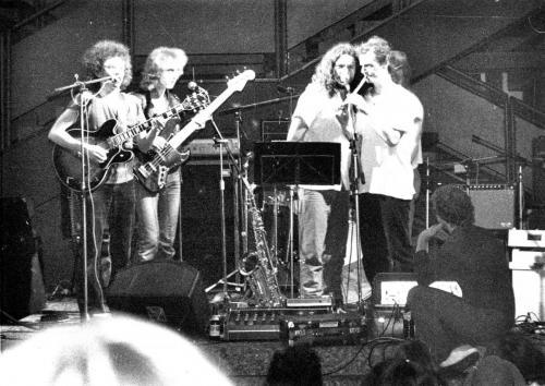 Bert Fastenrath, Tom Wicke, Detlef Anders, Michael Borner